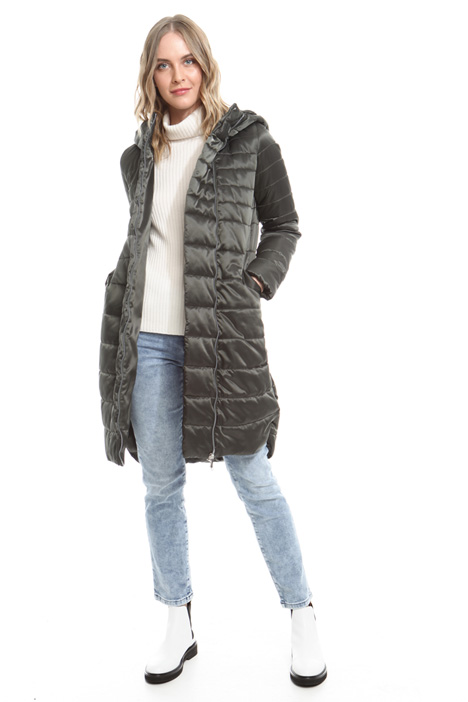 Hooded padded coat Intrend