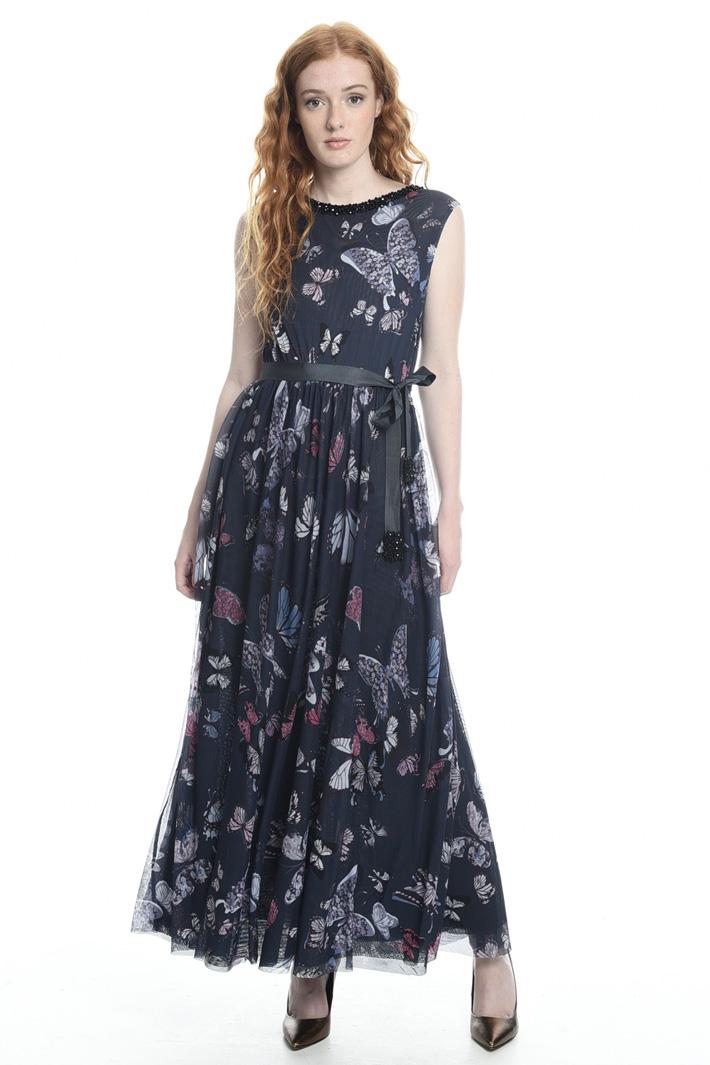 Butterfly print dress  Intrend