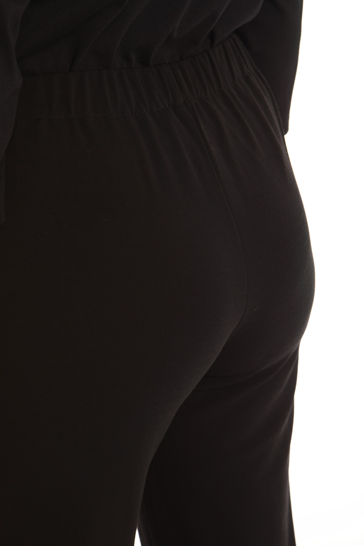 Jersey trousers with pockets Intrend