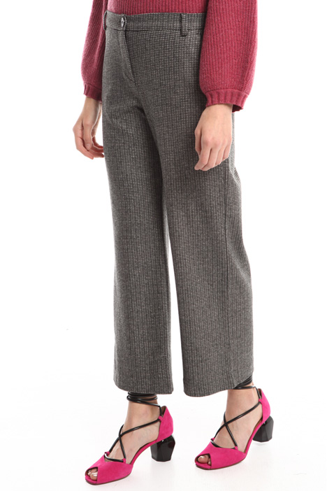 Striped viscose trousers Intrend