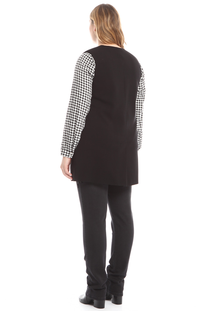 Gilet lungo in jersey Intrend