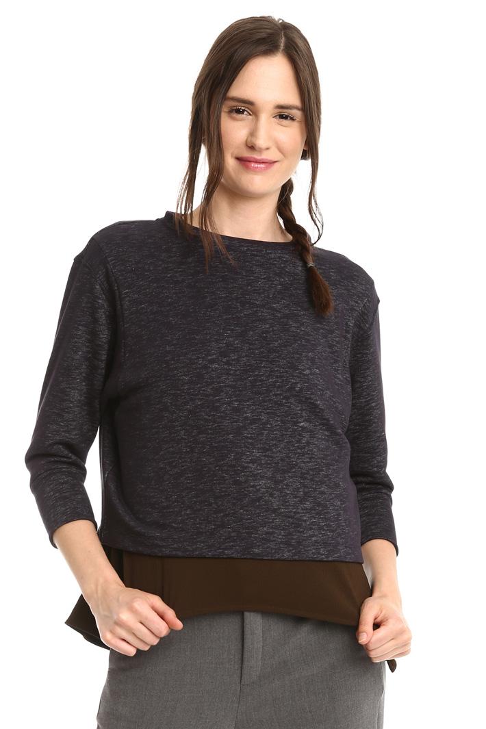 Slub-effect sweatshirt Intrend