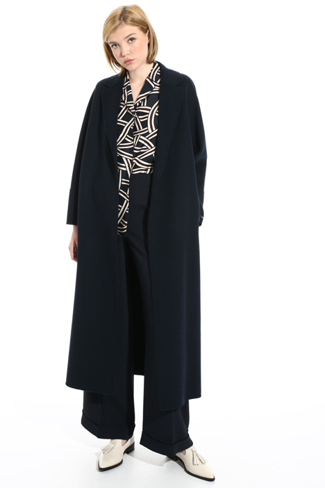 Wool wrap coat Intrend
