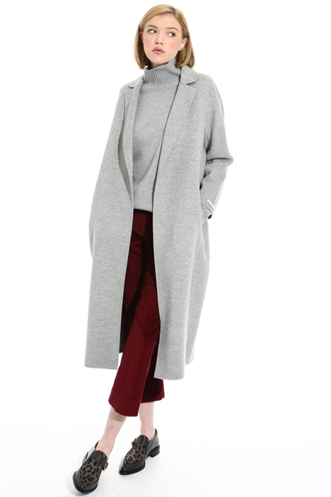 Wool and angora coat Intrend