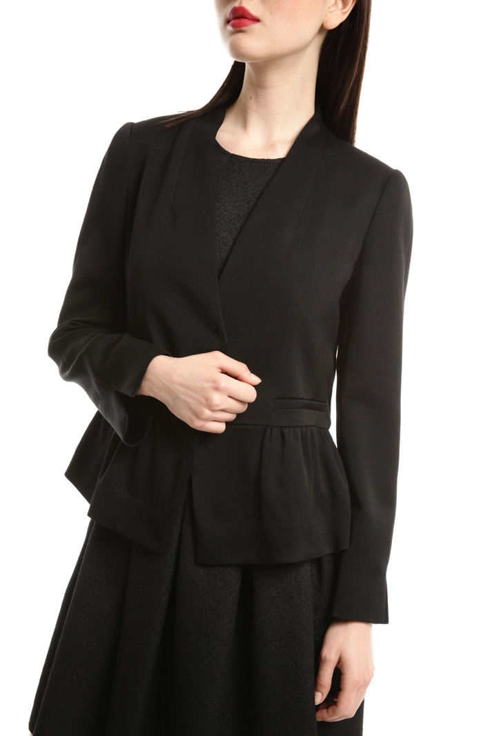Jacket in stretch fabric Intrend
