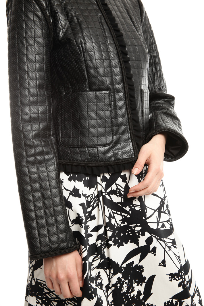 Coated boxy-fit jacket Intrend