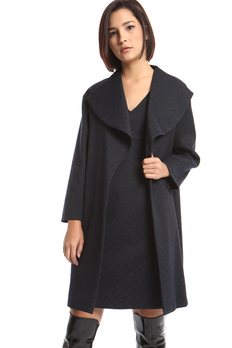 Shawl collar coat Intrend