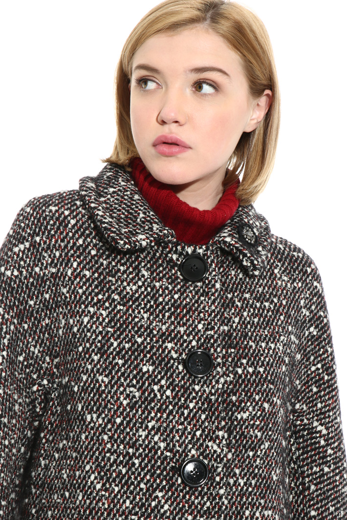 Wool and mohair coat Intrend