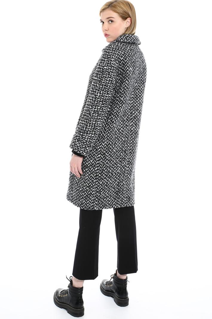 Wool and alpaca coat   Intrend