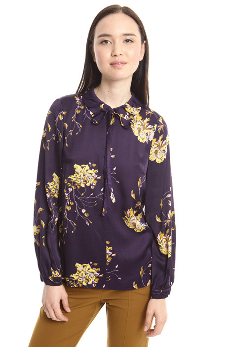 Viscose satin blouse Intrend