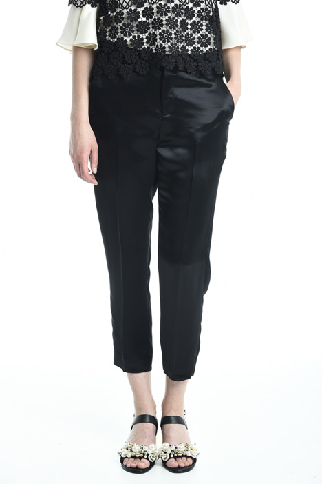 Pantaloni in raso fluido Intrend