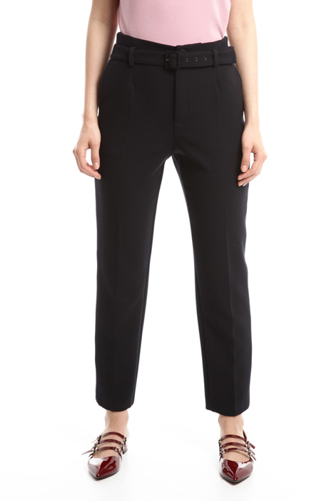 Stretch sablé trousers Intrend