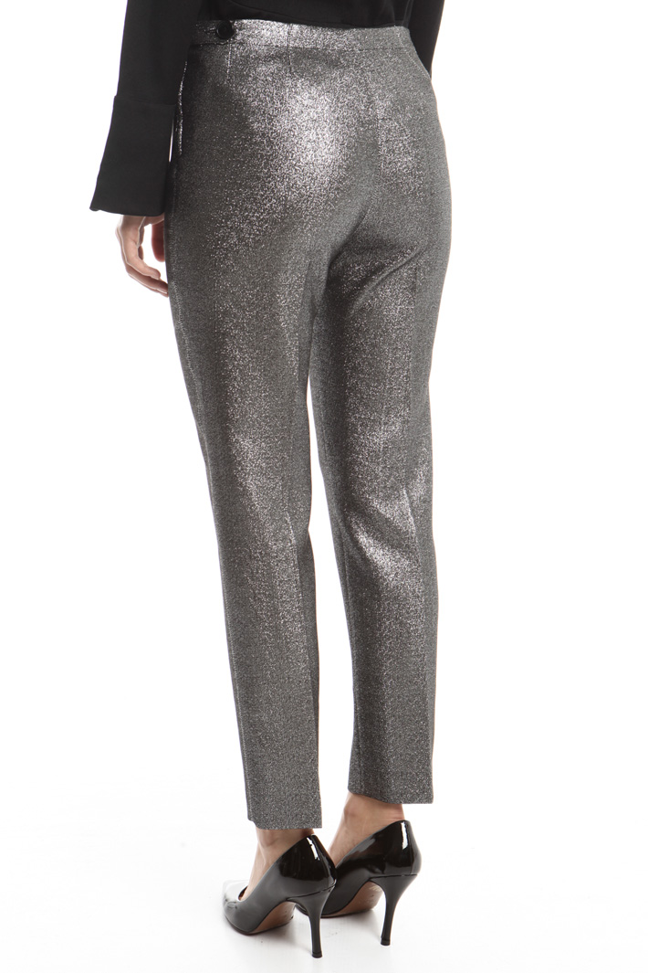 Lurex cady trousers Intrend