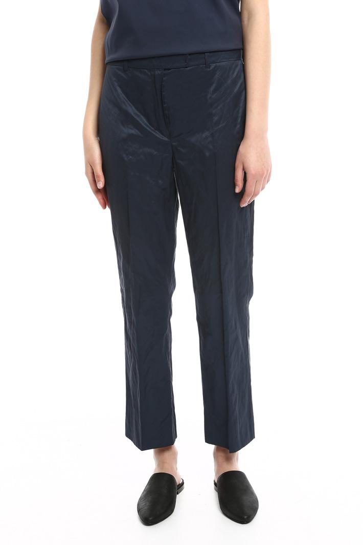 Pantaloni in raso Intrend