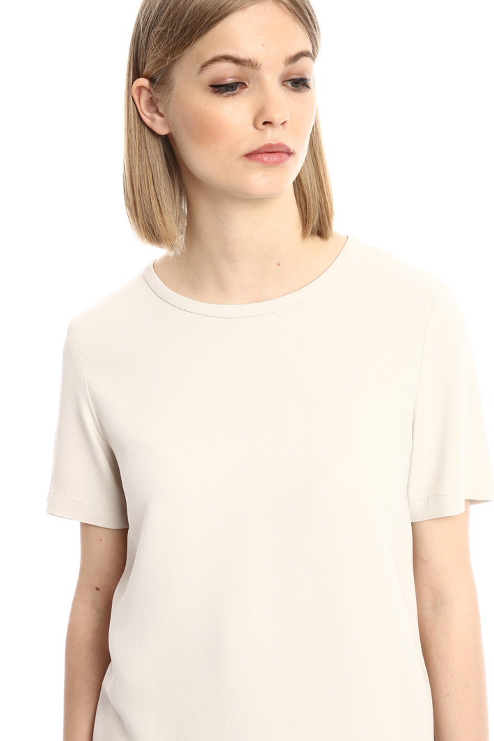 Cady top with side slits Intrend