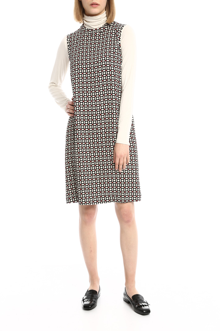 A-line cady dress Intrend