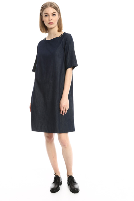 Denim A-line dress Intrend