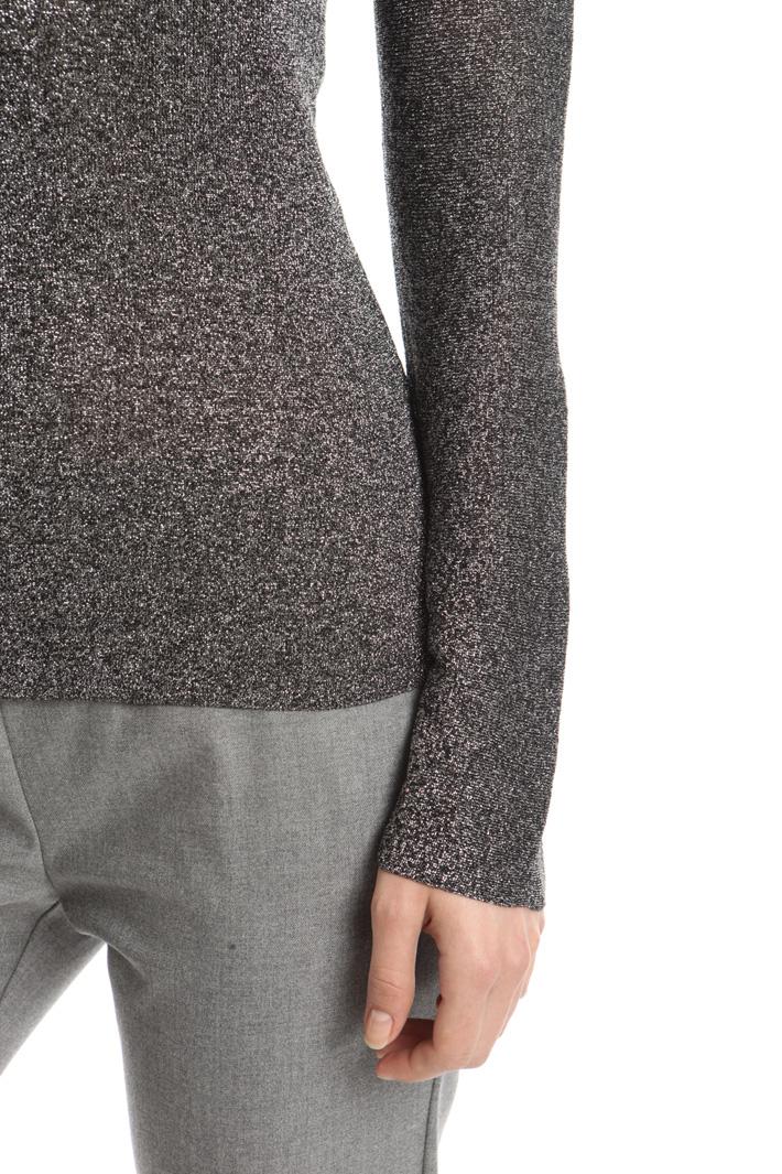 Lurex yarn top Intrend