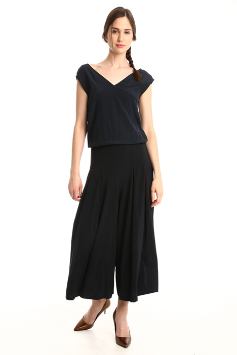 Jersey and crepe jumpsuit Intrend