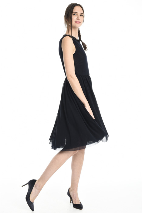 Tulle jersey dress Intrend