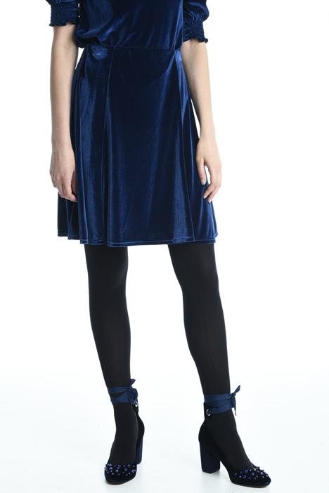 Velvet jersey skirt Intrend