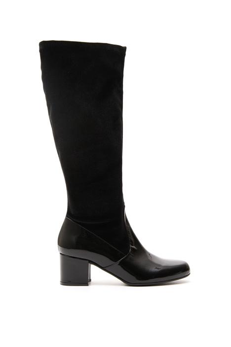 Velvet boots Intrend