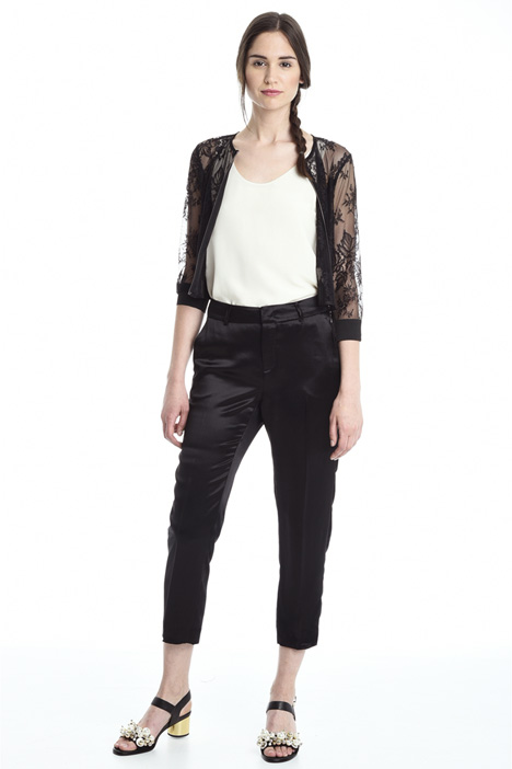 Lace and tulle jacket Intrend