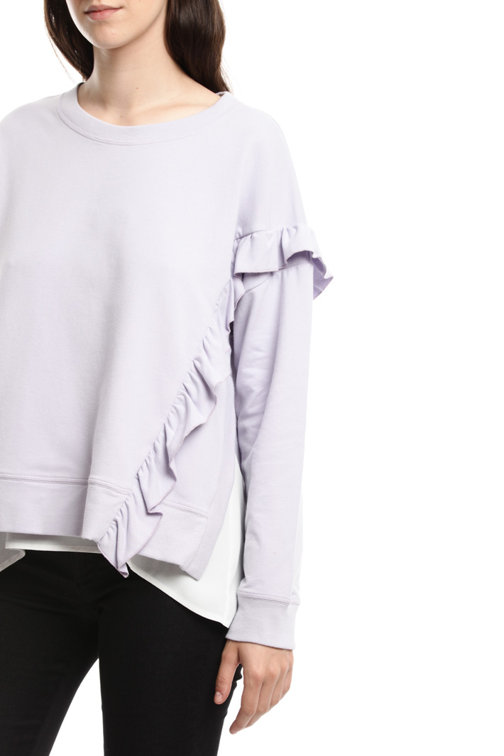 Sweatshirt with matching top Intrend