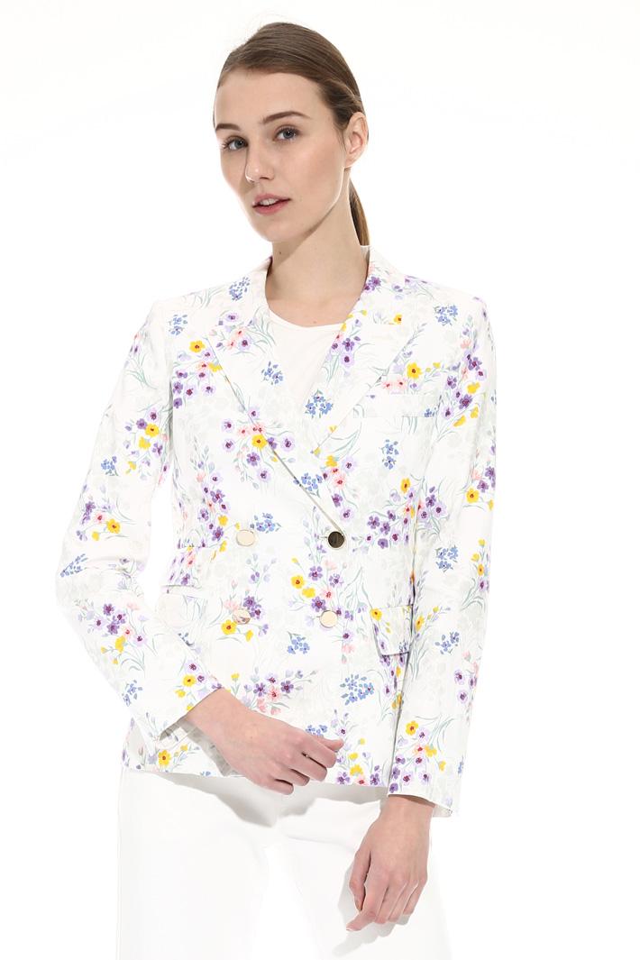 Linen canvas jacket Intrend