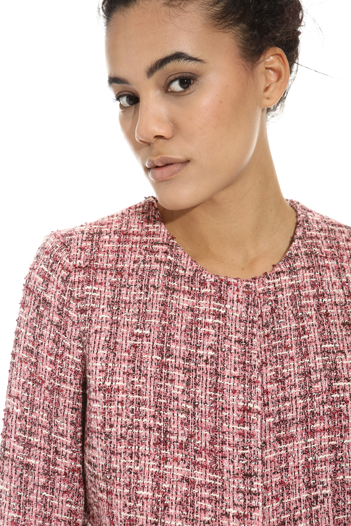 Giacca in tessuto jacquard Intrend