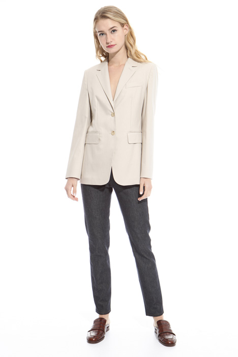 Pure cotton twill blazer Intrend