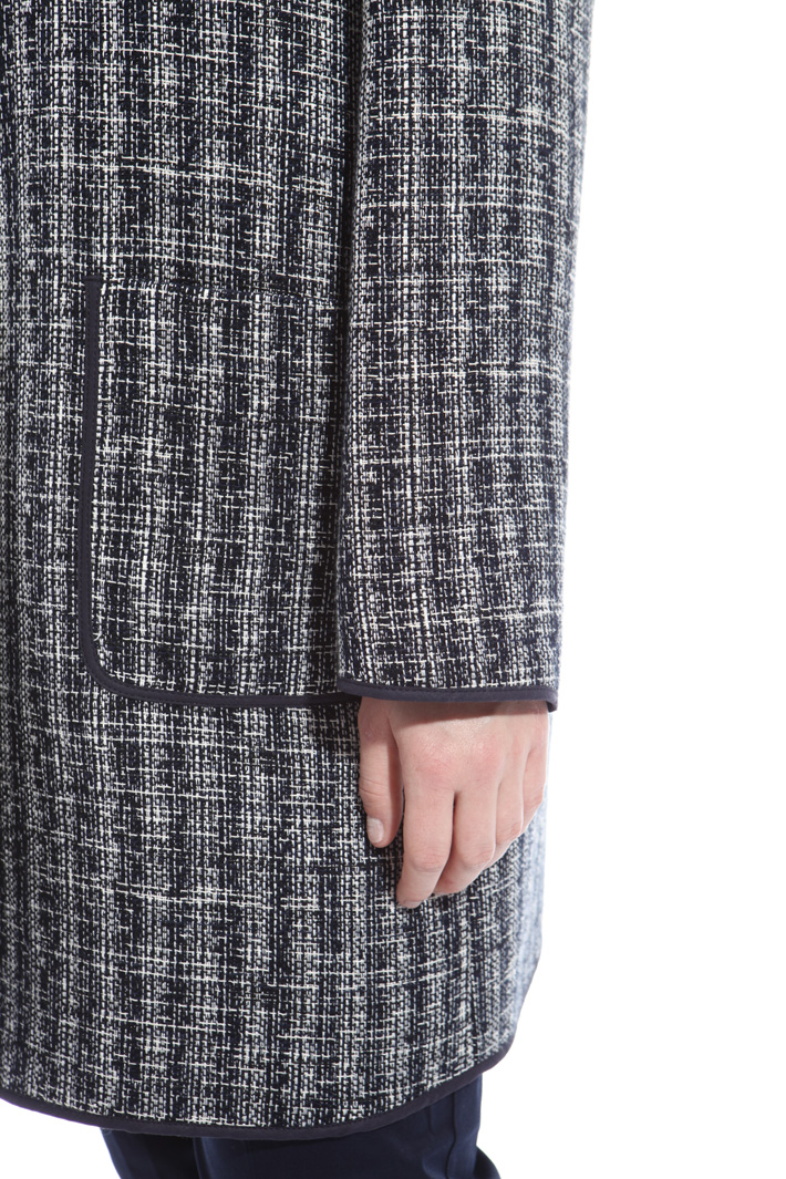 Interwoven duster coat Intrend