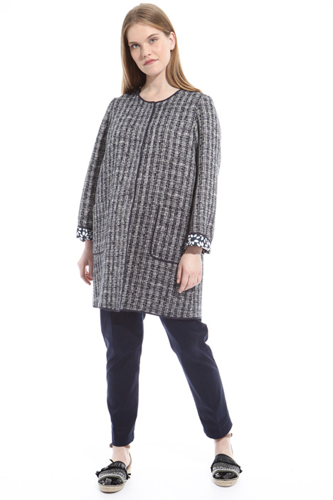 Interwoven duster coat Intrend