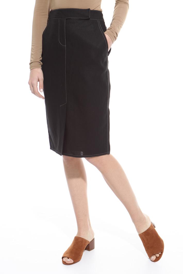 Hand-sewn skirt Intrend