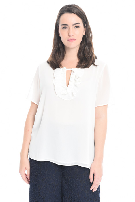 Blusa in georgette Intrend