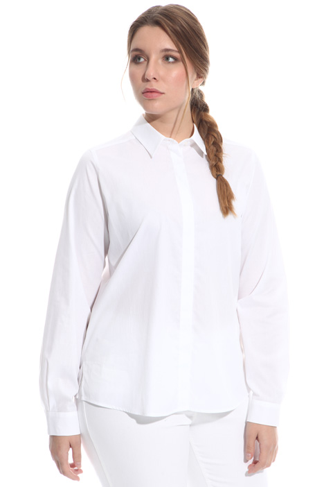 Basic shirt in cotton Intrend