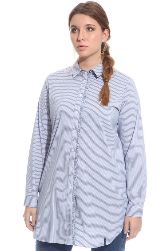 Frill trim shirt Intrend