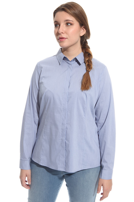 Yarn-dyed cotton shirt Intrend
