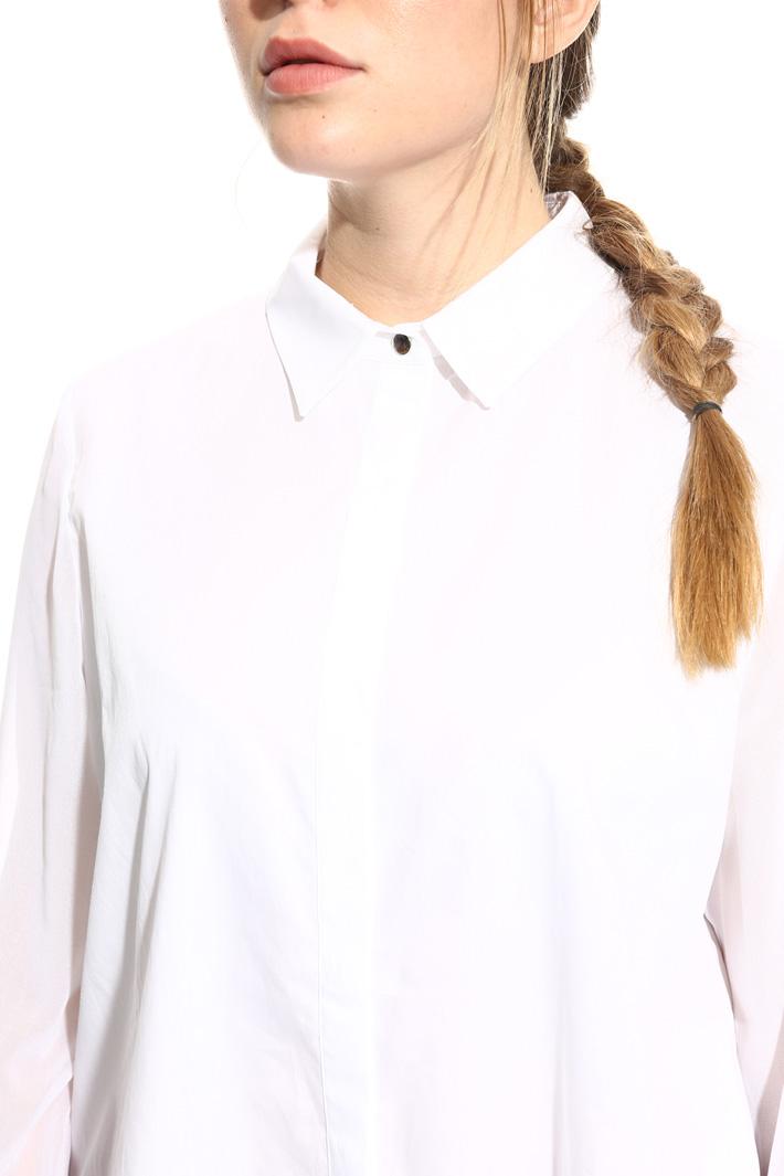 Camicia in cotone e gerogette Intrend