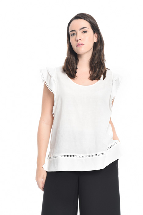 Tencel and linen tunic Intrend