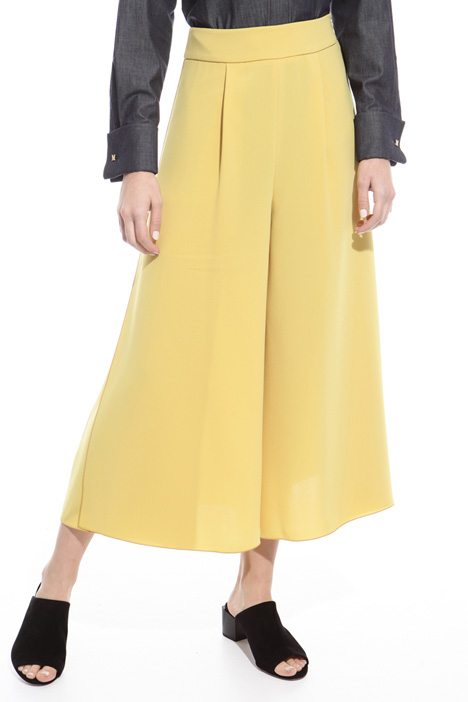 Divided skirt in triacetate Intrend