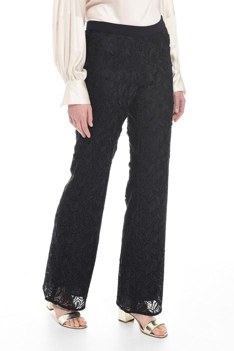 Pantalone in tessuto macramé Intrend