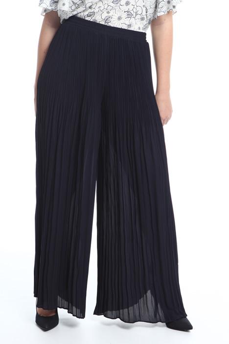 Pantaloni in crepe plissé Intrend