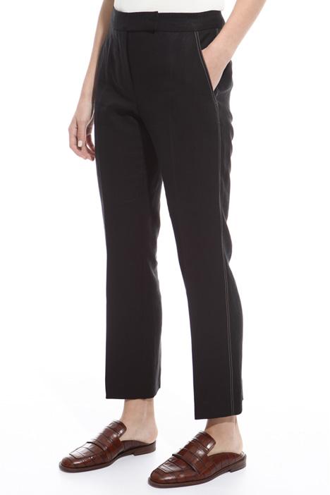 Pantalone cuciture contrasto Intrend