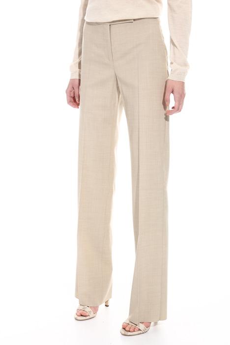 Pantalone in lana misto seta Intrend