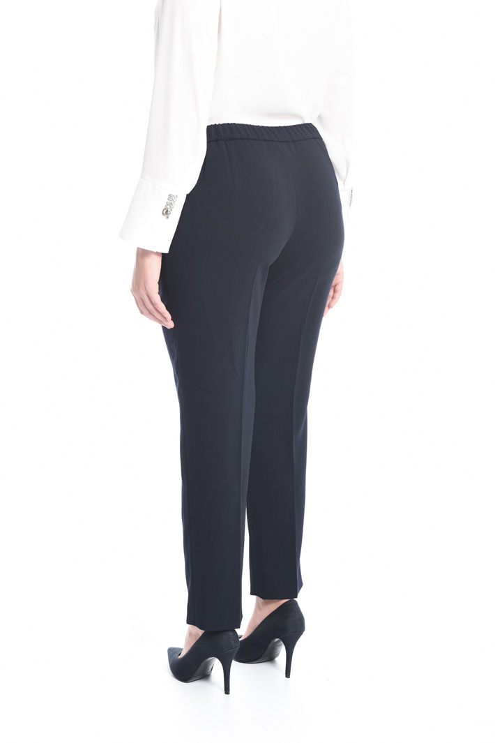 Pantalone in tessuto fluido Intrend