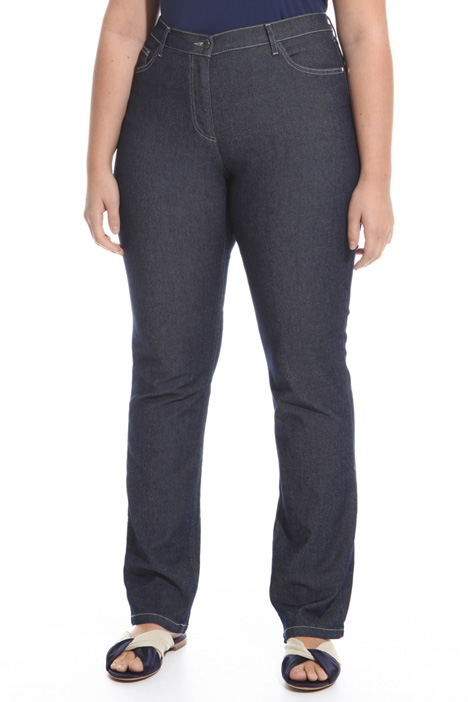 Jeans with contrasting stitches Intrend