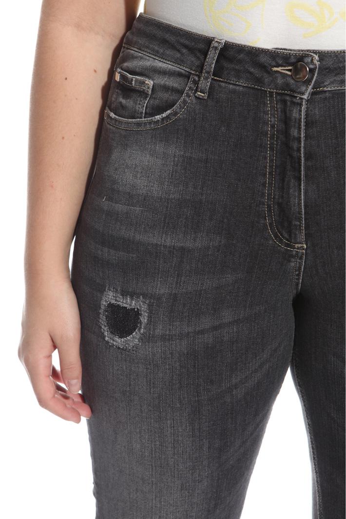 Jeans aderente in denim Intrend