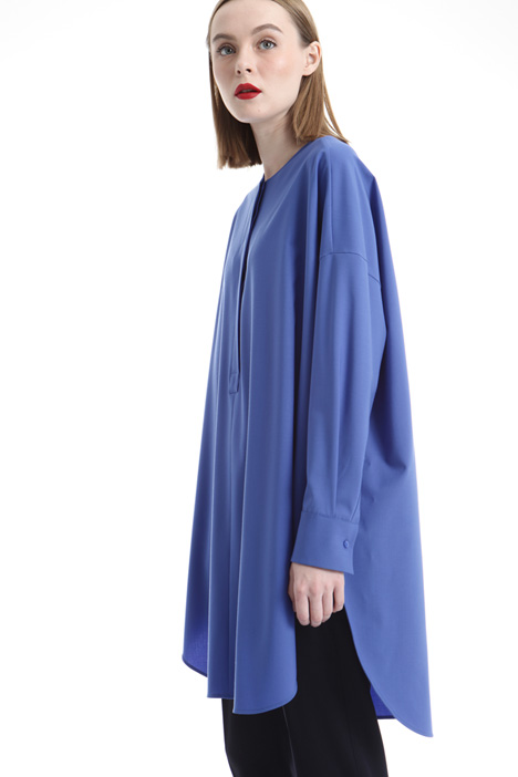 Wool canvas tunic Intrend