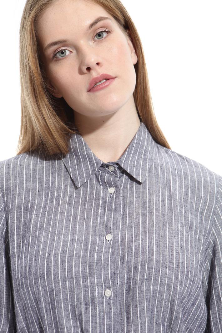 Camicia con cintura in vita Intrend